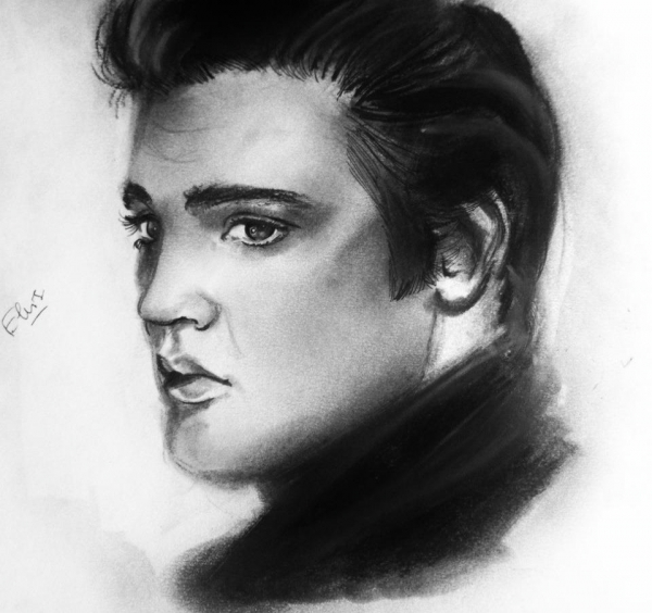 Elvis Presley par Lolochou